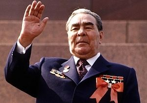 Советский анекдот про Брежнева на английском