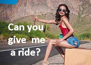 Как сказать по-английски: Можешь меня подвезти?
