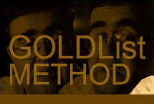 Учим английской по Gold List method