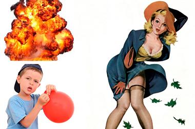 Что такое «Blowing up»