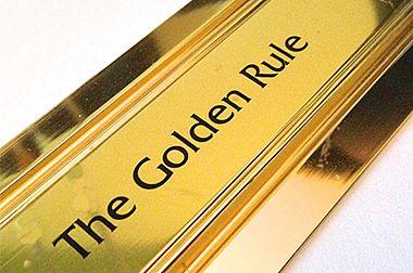 По какому золотому правилу живут все Американцы