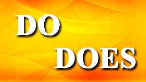 Использование Do и Does в английском языке — упражнения с ответами