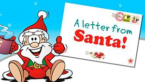 Письмо от Санты на английском — примеры с переводом