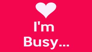 Как будет по-английски: Я занят — перевод и примеры