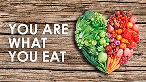 Как на английском: Ты то, что ты ешь