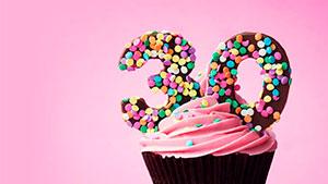 30 — 30-й по-английски — Amer — Bre произношение слушать