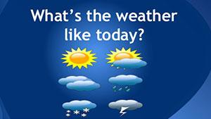 Говорим о погоде — как спросить о погоде — природные явления