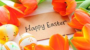 Как произносится Happy Easter — С Пасхой!