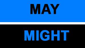 В чем разница May — Might