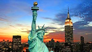 Как произносится New York  — американский и британский акценты
