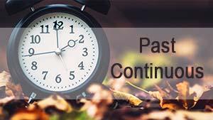 Образование и употребление Past Continuous