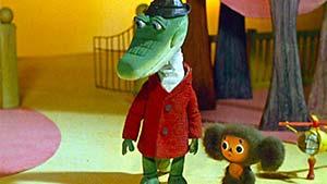 Мультфильм «Чебурашка и крокодил Гена» на английском с русскими субтитрами — смотреть