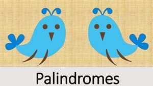 Что такое палиндромы в английском языке