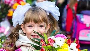 Рассказ о Первом сентября в России на английском языке
