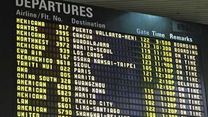 Flight announcement — объявления на рейс — аудио и тексты с переводом