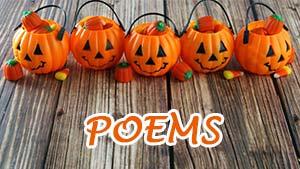 Стихи к празднику Хэллоуин на английском языке