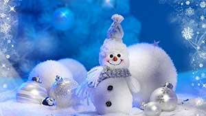 Стихи на английском: Про снеговика
