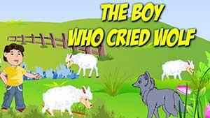 Мальчик, который кричал «волки» на английском языке — The Boy Who Cried Wolf — рус/eng