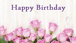 Поздравительные открытки «С днём рождения» девушке, женщине, любимой