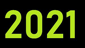 2021 — написание и произношение на английском