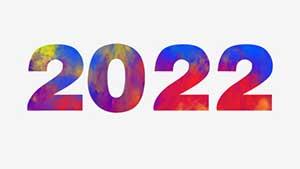 2022 — написание и произношение на английском