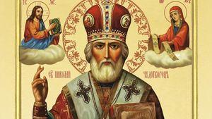 Святой Николай — аудио топик с переводом