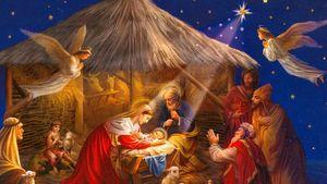 История Рождества и рождения Иисуса Христа рус-eng